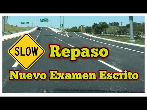 tes de manejo en español