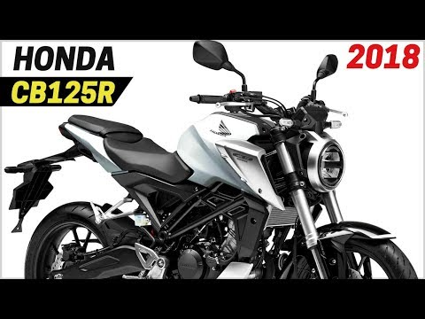 New 2018 Honda Cb125r Awesome Retro Bike Neo Sports Cafe Concept