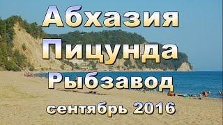 Абхазия, Пицунда, Рыбзавод 2016 сентябрь