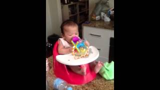 Vy's new bumbo style seat Thumbnail