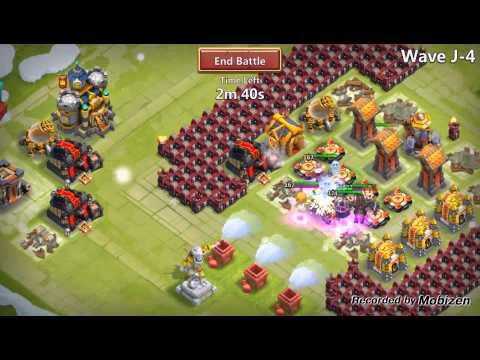 Castle Clash HBM J: No Troops, No Garrisons