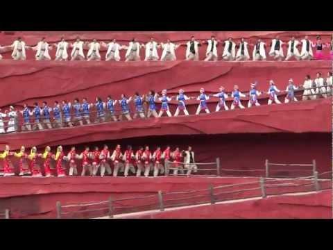 """ IMPRESSION LIJIANG ""...an outdoor musical @ Jade Dragon Snow Mountain ,Lijiang , YUNNAN ! Part 2."
