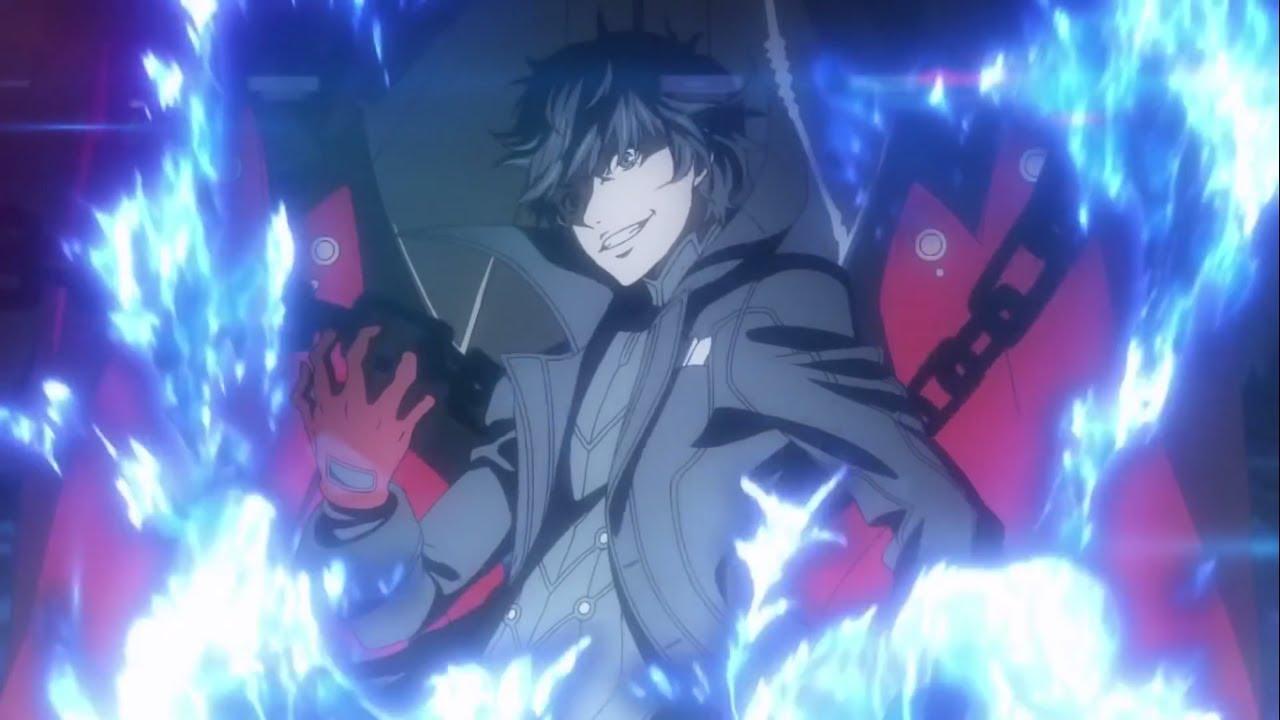 Persona 5 Akira Kurusu Protagonist Awakening Cutscene Hd ペルソナ 5 Youtube
