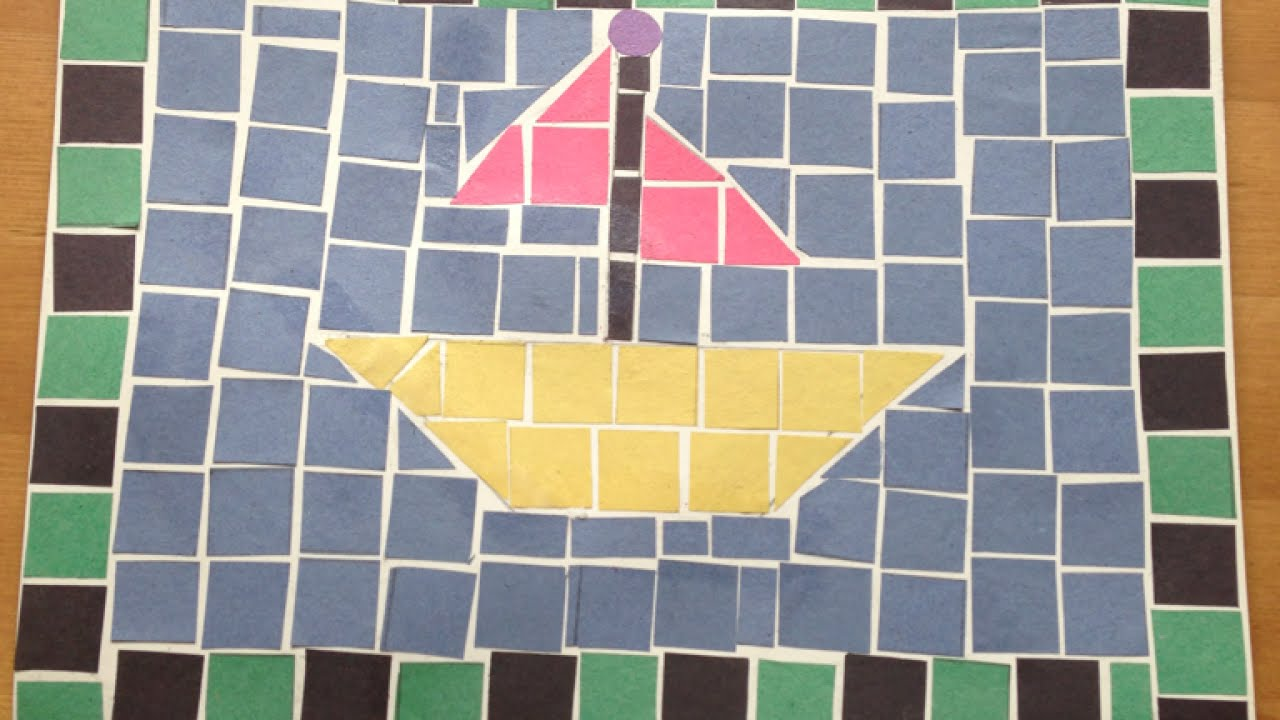 Make Fun Childrens Mosaics - DIY Crafts - Guidecentral - YouTube