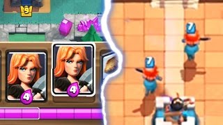 DOUBLE VALKYRIE IN DECK GLITCH | Clash Royale | How Is This Possible?