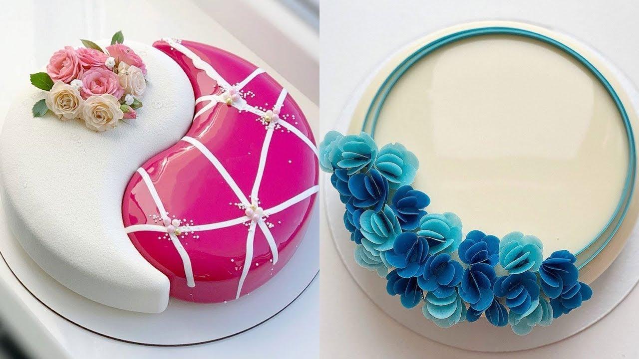 Top Yummy Chocolate Mirror Glaze Cake Recipe | Satisfying Cake Videos
