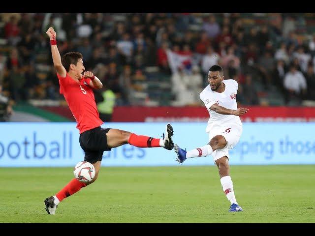 ملخص مباراة قطر وكوريا الجنوبية
