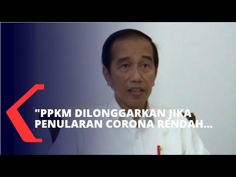 Download Jokowi: PPKM Dilonggarkan Jika Penularan Corona Rendah