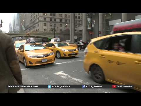 Uber cars out number yellow cabs in NYC