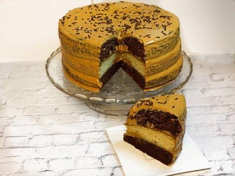 ВКУСНЫЙ ТОРТ | Быстрый и простой рецепт торта | Торт с кремом из сгущенки