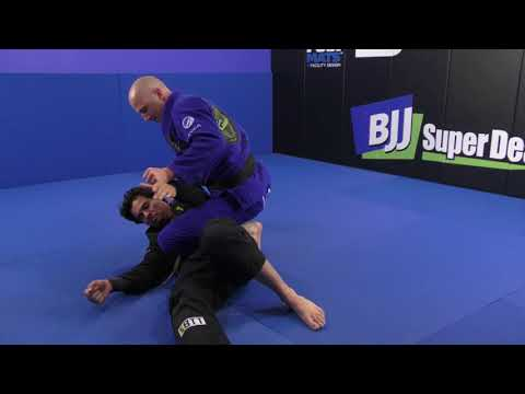 """""""Old Guy"""" Stops Pressure Passing In Its Tracks! (Scissor Sweep by Jay Wadsworth)"""