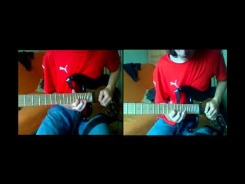 Iron Maiden - Walking on glass guitar cover