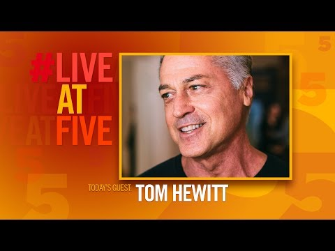 Broadway.com #LiveatFive with Tom Hewitt of CHICAGO