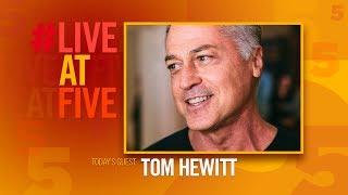 Broadway.com #LiveatFive with Tom Hewitt of CHICAGO