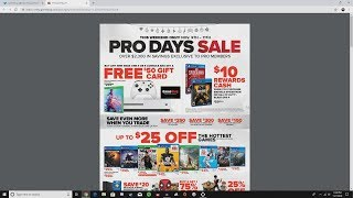 GameStop Pro Days Sale This Weekend