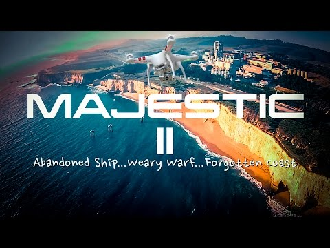 MAJESTIC II: California Drone Aerial Footage from Aptos, Santa Cruz, and Davenport