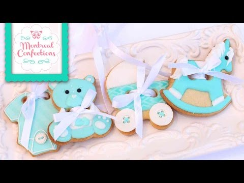 How to Decorate 4 Piece Baby Cookie Cutter Set By Wilton