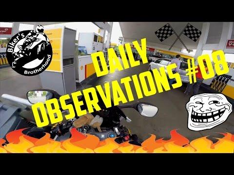 Daily Observations 08 ►Fun ▲Wheelie ▲Bike on Fire▲Help▲ Race