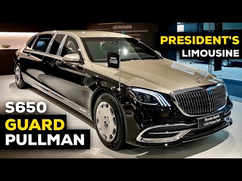 2020 Mercedes Maybach S650 Pullman GUARD V12 NEW Review Interior Exterior Security