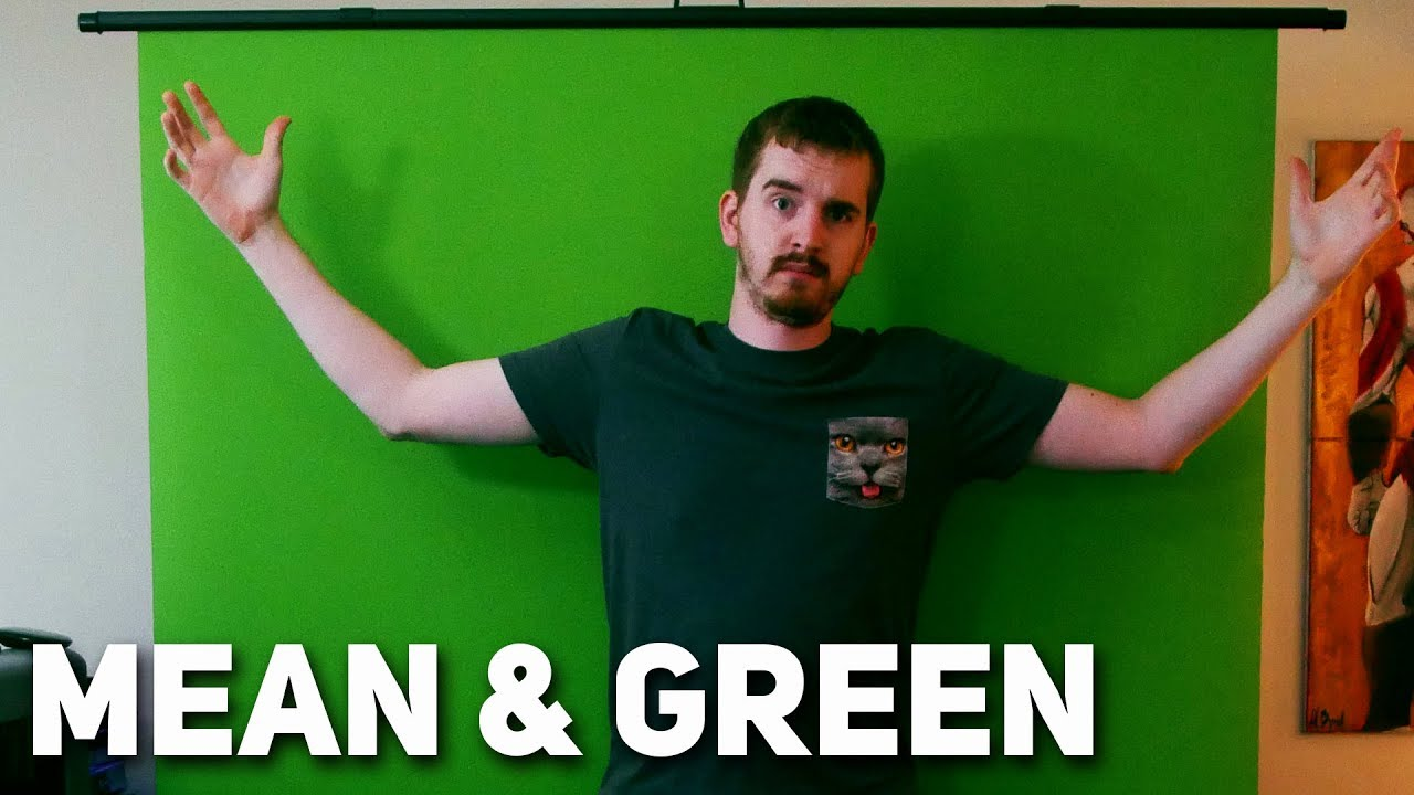 THE BEST GREEN SCREEN FOR STREAMING    EVER! - Elgato Green Screen Review &  Setup Guide