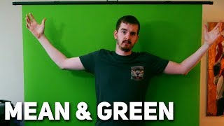 THE BEST GREEN SCREEN FOR STREAMING... EVER! - Elgato Green Screen Review & Setup Guide