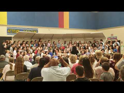 Dodge Literacy Magnet 5th Grade 2019 sings Fight Song
