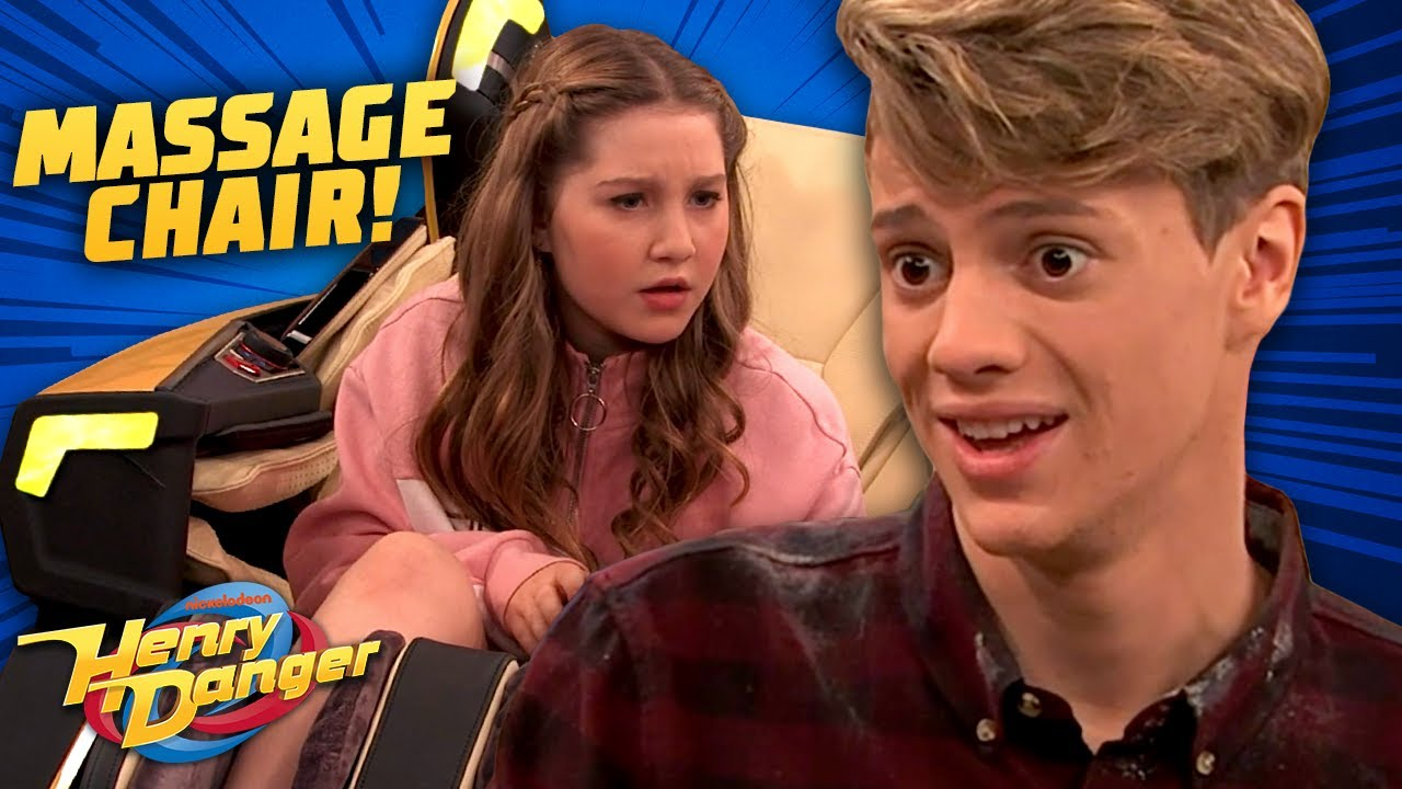 Download Fighting Over The Massage Chair! 'Message Chair' | Henry Danger