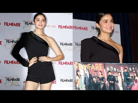 Alia Bhatt Unveils The Cover Of Filmfare Glamour And Style Magazine