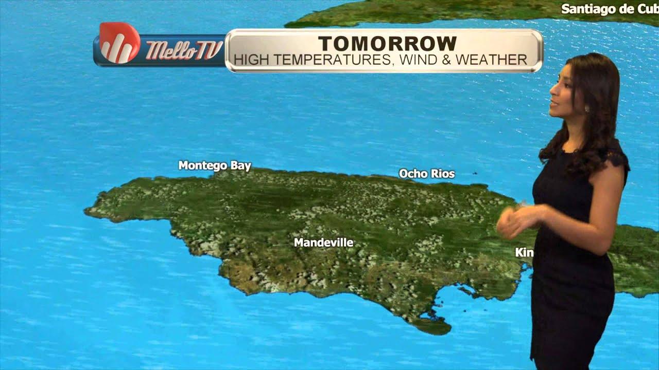 Weather Forecast for Jamaica-Nov.18 2015 with Cristina ...