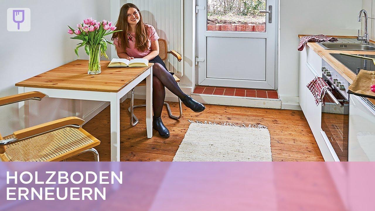 Holzfußboden Erneuern ~ Holzboden erneuern renovieren mit elmar youtube