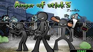 Anger of Stick 5 Apk: All Weapons Unlocked # Hacked 2018 - Android GamePlay#16