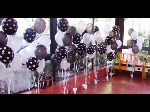 Decoraci n para 60 39 a os doovi for Decoracion con globos 50 anos
