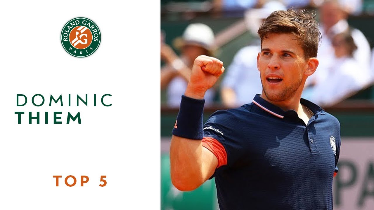 Dominic Thiem - TOP 5 | Roland Garros 2018