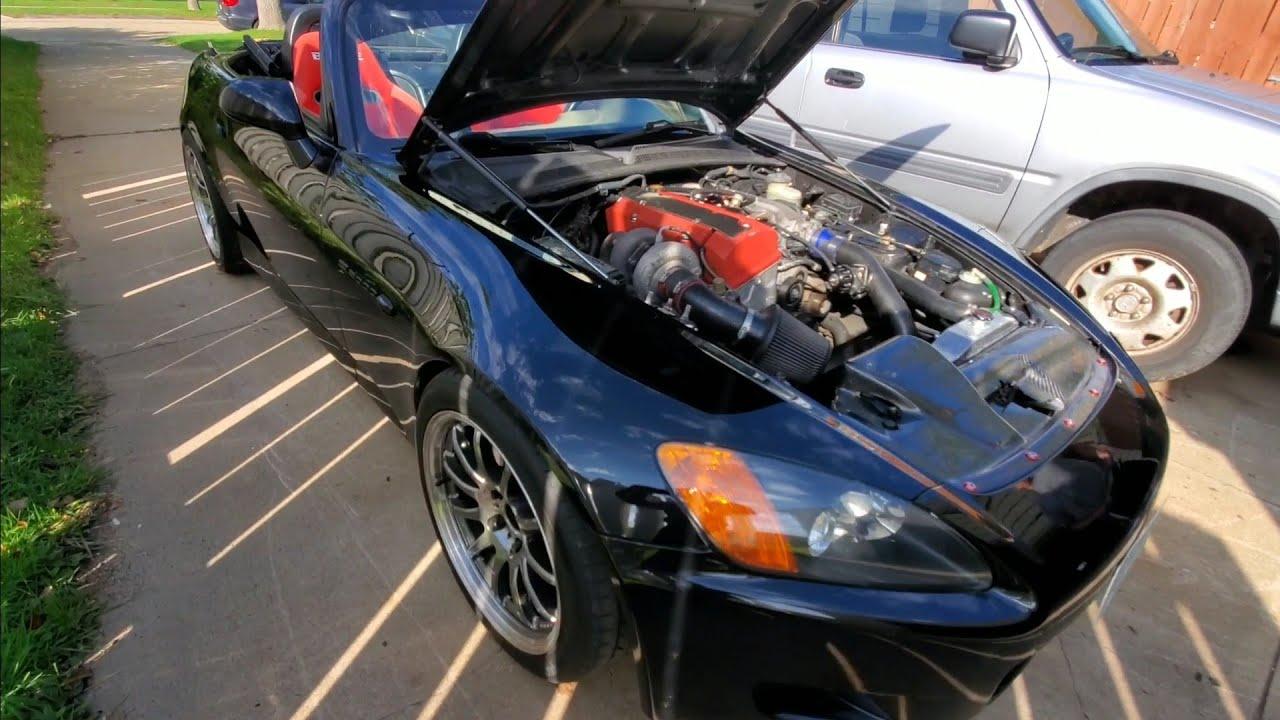 500hp Honda S2000 Turbo - YouTube