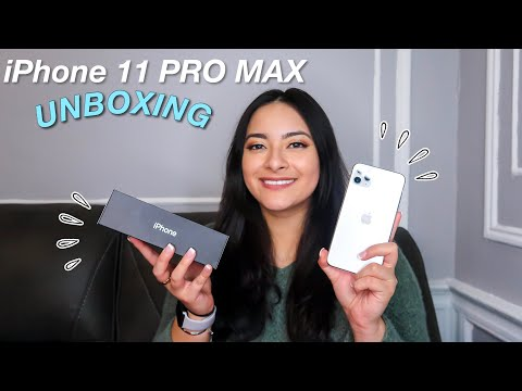 IPhone 11 PRO MAX UNBOXING & SET UP 2020!