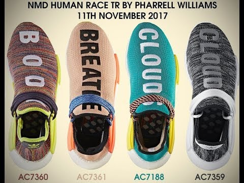 bbb7357691272 Latest Adidas Originals Pharrell Williams HU NMD Trail Shoes   Apparels  Drop List   Price 11 11 2017