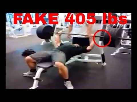 Thumbnail: Brad Castleberry Fake Weight Proof