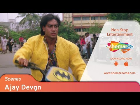 Ajay Devgn Power-pack Performance From 90's Movie Kanoon   Bollywood Action Movie