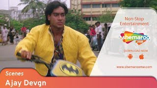 Ajay Devgn Power-pack Performance from 90's Movie Kanoon | Bollywood Action Movie