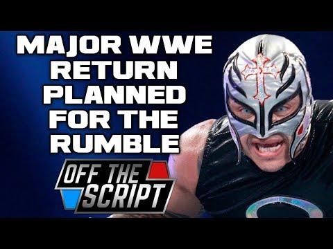 HUGE Wrestlemania 34 MATCH SCRAPPED? MAJOR Rey Mysterio WWE RETURN NEWS   Off The Script #201 Part 2