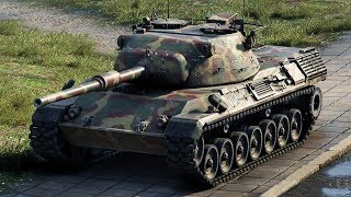 World of Tanks Leopard 1 - 10 Kills 10,9K Damage (1 VS 6)