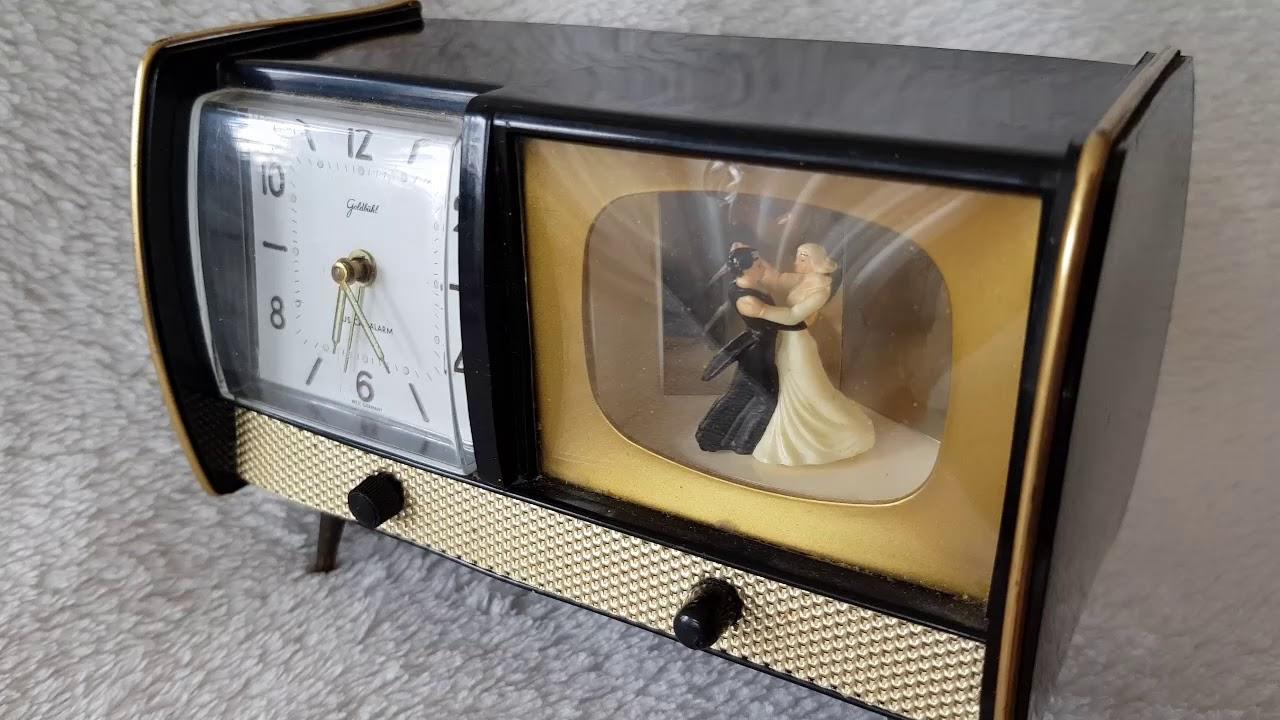 West German Musical Alarm Clock
