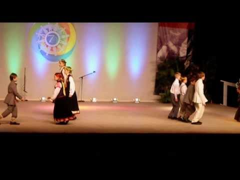 Latvian Children - International Stage Performance - Holiday Folk Fair International 2013