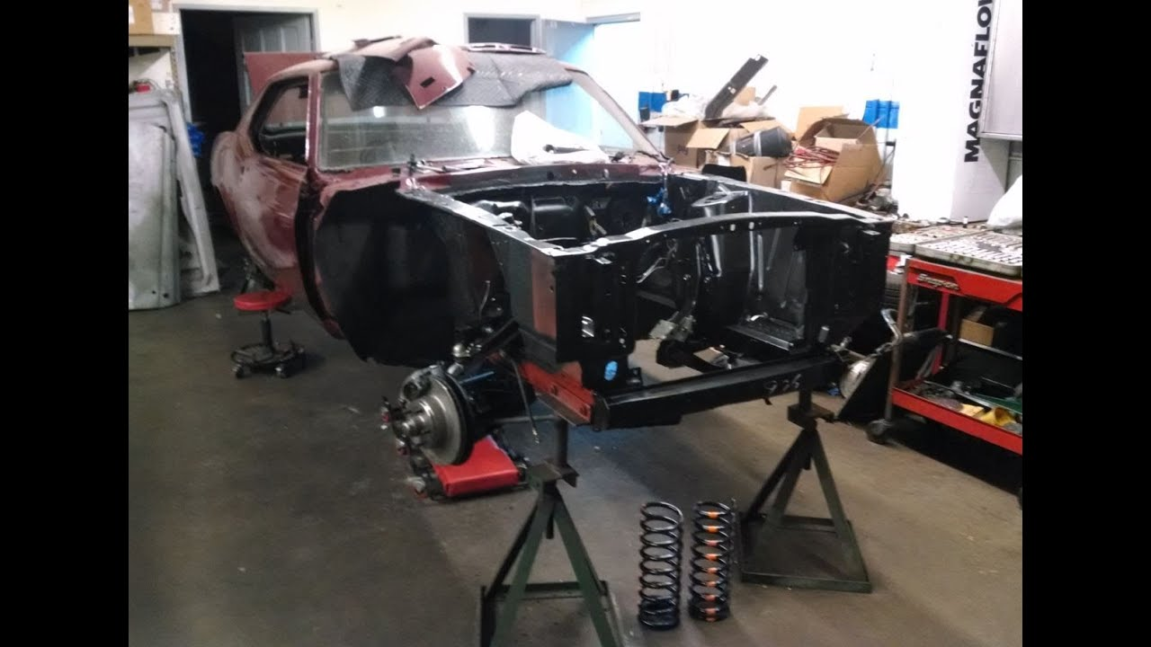 Installing Front Suspension From Laurel Mountain Mustang  Ford Mustang Restoration Part  Youtube