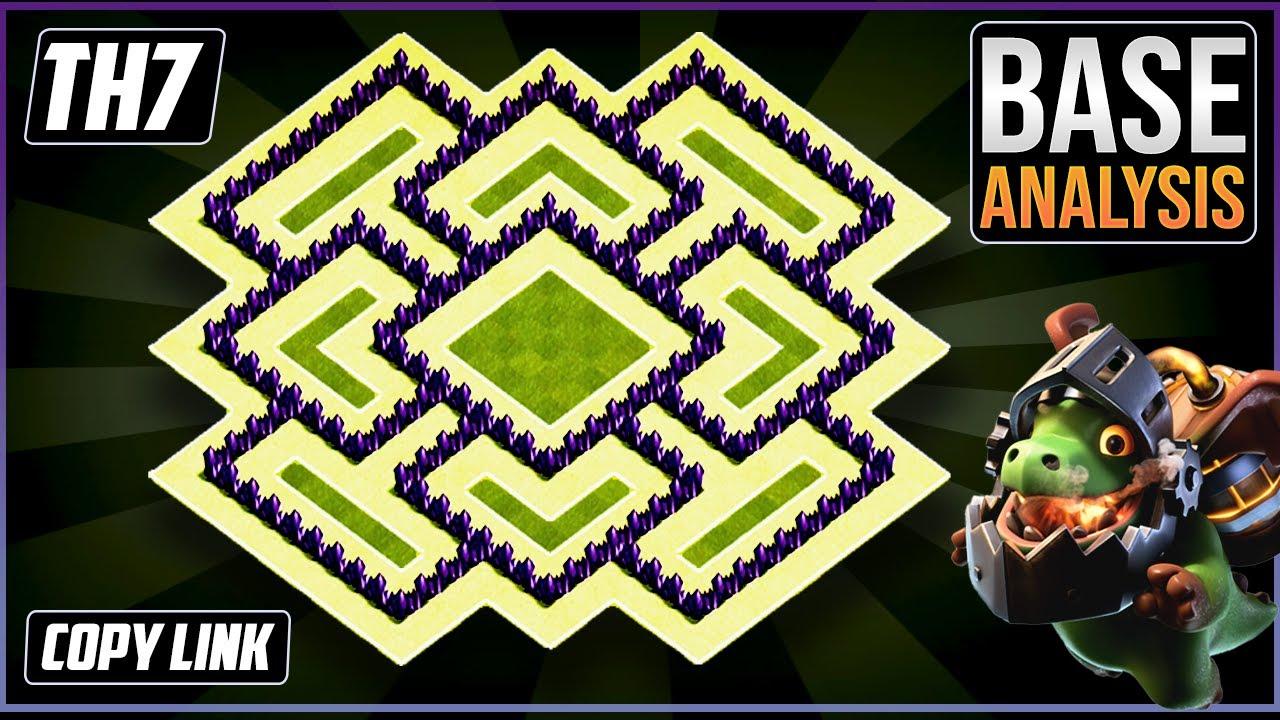New BEAST TH7 HYBRID/TROPHY[defense] Base 2020!!  Town Hall 7 Hybrid Base Design - Clash of Clans