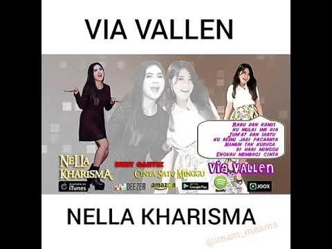 Duet Via Vallen feat Nella Kharisma - Cinta Satu Minggu