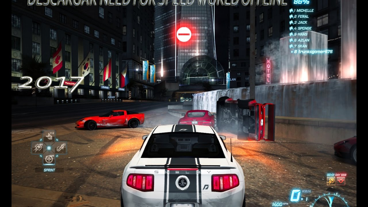 Descargar e Instalar NEED FOR SPEED WORLD 201…