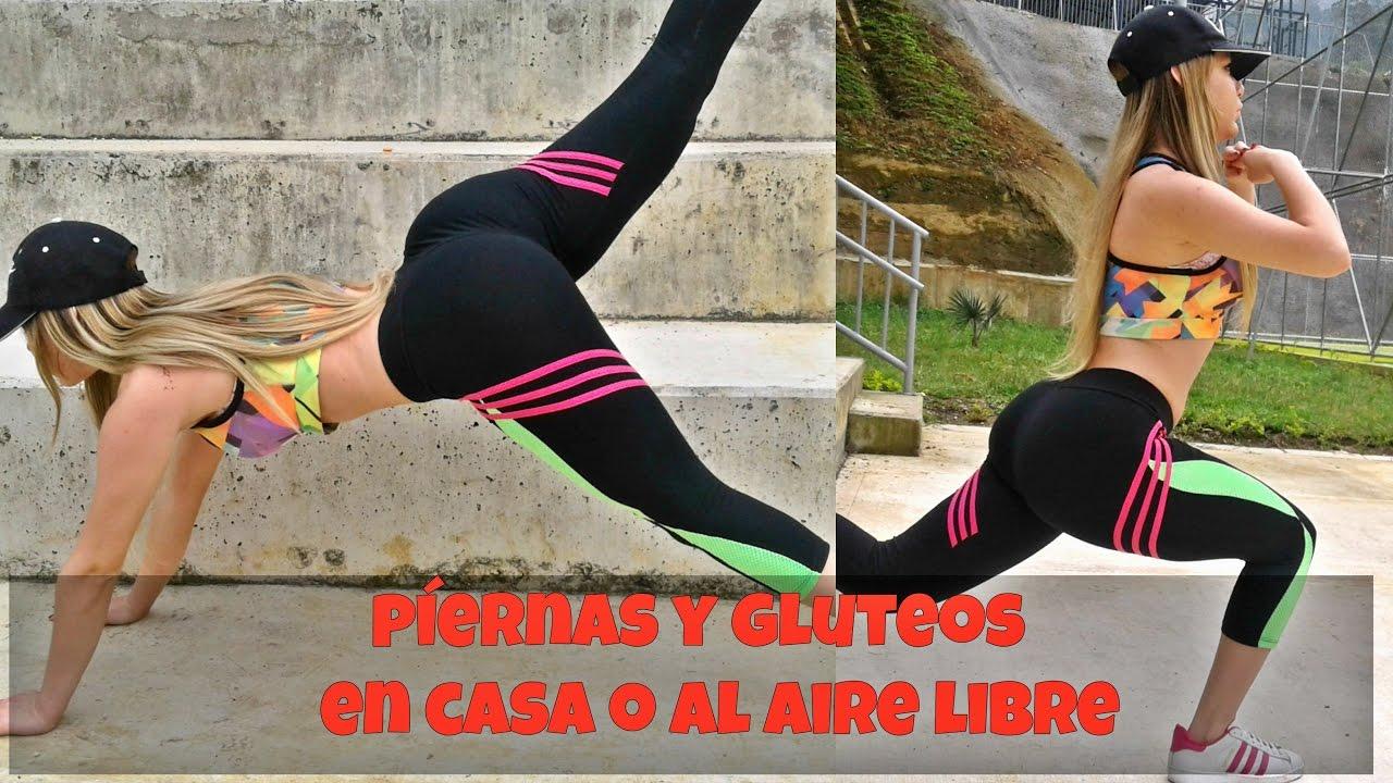 ejercicios al aire libre para glúteos y piernas (Tonifica