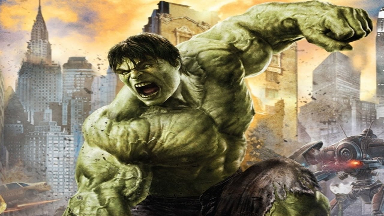 The Incredible Hulk The Movie All Cutscenes Full Walkthrough Hd