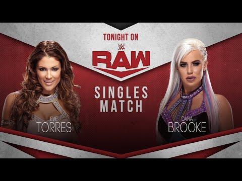 WWE 2K20 Universe Mode  - RAW - Dana Brooke v Eve Torres